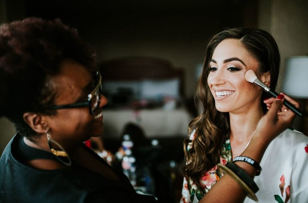 Lit Life Wedding Chat: Dallas Makeup Artist Eyes by Erica